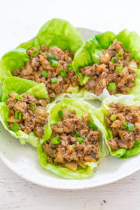 P.F. CHANG'S CHICKEN LETTUCE WRAPS {COPYCAT RECIPE}