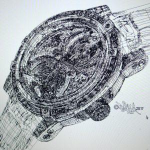 Hand Drawn Digital Illustration