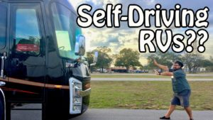 Self Driving R.V. shower thoughts